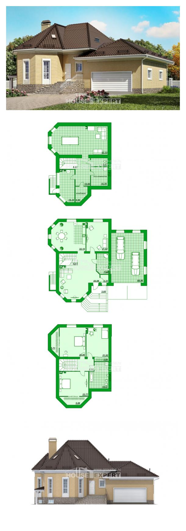 Проект дома 400-001-П   House Expert