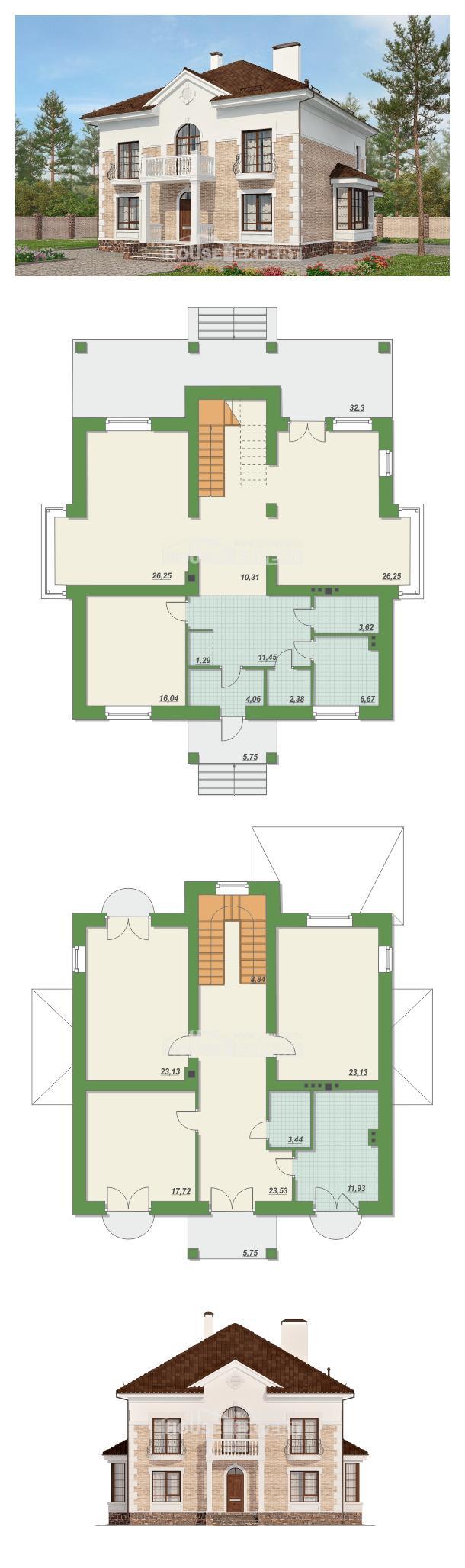 Проект дома 220-008-П | House Expert